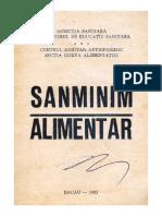 "SanMinim Alimentar - Centrul Sanitar antiepidemic sectia "" Igiena Alimentatiei"""