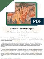 Sri Gaura Ganoddesha Dipika