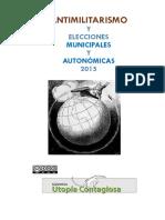 Antimilitarismo y Elecciones Municipales y Autonómicas 2015