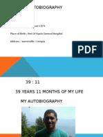 autubiography