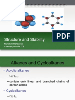 Cycloalkanes and Carbon Stability