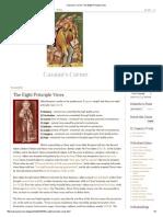 Cassian's Corner_ the Eight Principle Vices