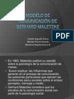 Modelo comunicativo de Maletzke