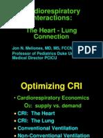 Cardiorespiratory Interactions:
