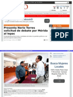 13-04-2015  Presenta Nerio Torres solicitud de debate