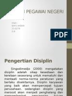 DISIPLIN PEGAWAI NEGERI SIPIL.pptx