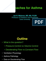 Approaches for Asthma