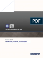 UserGuides Tutorials Examples OFM 2014