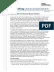 Weil Briefing ANTI Guidelines