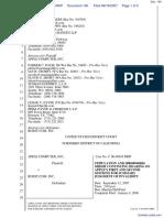 Apple Computer Inc. v. Burst.com, Inc. - Document No. 140