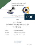 Arquitectura de Software 4+1