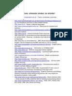 Páginas Web Interesantes Para El Estudio de Inglés