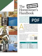 Homeowners Handbook - GreenBuilder 2012