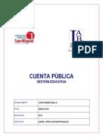 Cuenta Publica Lab Gestión 2014
