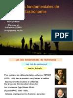 Les Lois Fondamentales de l'Astronomie