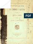 O STADO DO PARÁ - SEU COMMERCIO E INDUSTRIAS - DE 1719 A 1920; por Luiz Cordeiro