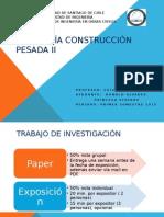 Ayudantía Construcción Pesada II, 1°sem 2015