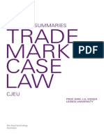 One Page Summaries Trademark CJEU