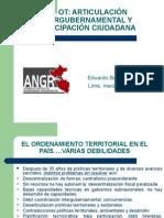 OT Articulación Intergubernamental y Participación Ciudadana