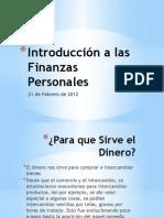 Finanzas Personales,Introducción y Módulo 1