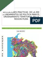 Aplicaciones prácticas de la ZEE y lineamientos de Política para el Ordenamiento Territorial en la región Piura