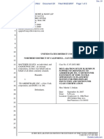 Elvey v. TD Ameritrade, Inc. - Document No. 20