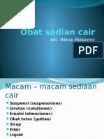 Obat Sedian Cair