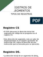 Registros de Segmentos