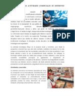 Tecnología y Las Actividades Comerciales de Diferentes Pueblos