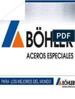 Catálogo ACERO Bohler