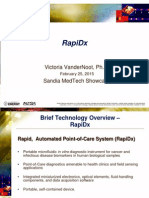 02 VanderNoot RAPIDX MedTech Showcase Presentation