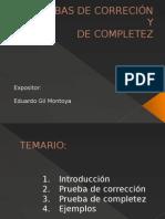 Exposicion Correccion y Completez