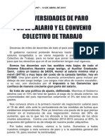 Boletín de Huelga - Adiunt 13 de Abril 2015