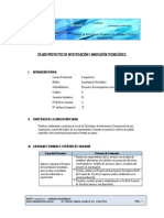 Proyecto de Invest e Innov Tecnologica Computacion