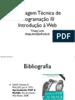 1 - Introdução a Web