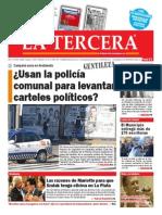 Diario La Tercera 13.04.2015