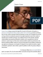 La última cita con Günter Grass | Cultura | EL PAÍS