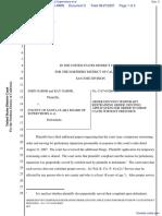 Gabor et al v. County of Santa Clara Board of Supervisors et al - Document No. 5