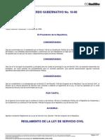 Acuerdo Gubernativo 18-98