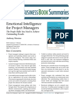 Emotional intelligence for project managers pdf free download windows 10