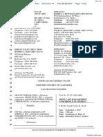 Oracle Corporation et al v. SAP AG et al - Document No. 44