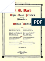 Transcription  Organ Choral Preludes