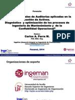 Carlos Parra Congreso ACP Panamá 2014 Auditoría