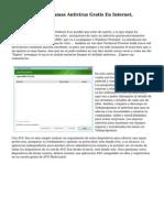 Los Mejores Programas Antivirus Gratis En Internet, Comparaciones
