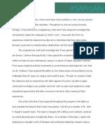 Analysis & Action Plan