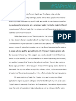Professional Review Reflection