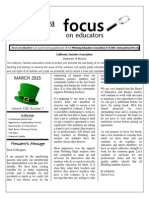 March 2015 Focus