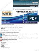 Tutorial E1 GVT ( ISDN TE110P ) No Elastix 2.5 Asterisk