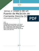 Tema 3 Diseno Puente Medicion Corriente Directa DC