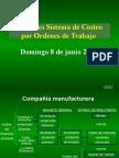 Refuerzo Sistema de Costeo Ordenes de Trabajo. 2014.Ppt.modificado